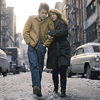 Suze Rotolo and her then-boyfriend