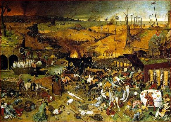 """The Triumph of Death"" by Bruegel the Elder"