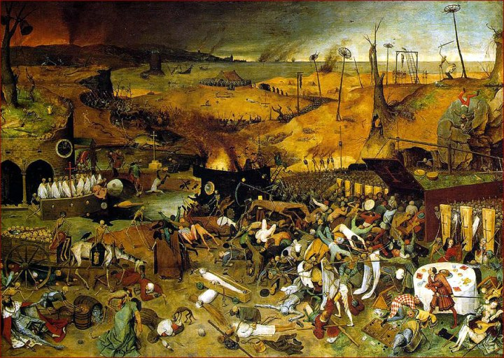 """The Triumph of Death"" by Bruegel the Elder"