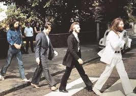 OK, I'll slow down and let them get safely across the street if I'm driving along and I see the Beatles are about to cross Abbey Road.