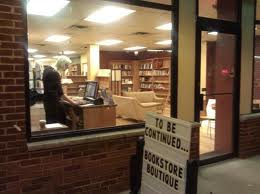 Here's a photo -- from the outside looking in -- of To Be Continued Bookstore in Metuchen, N.J., where I'll be reading on Friday, June 28.
